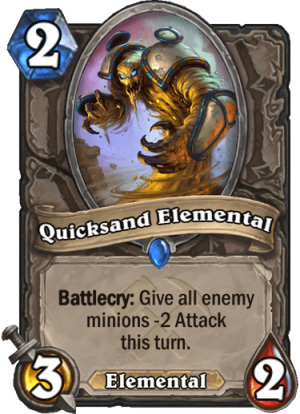 Quicksand Elemental Card