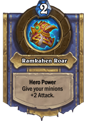 Ramkahen Roar Card