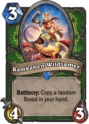 Ramkahen Wildtamer Card