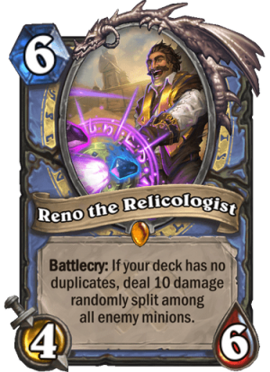 Reno the Relicologist Card