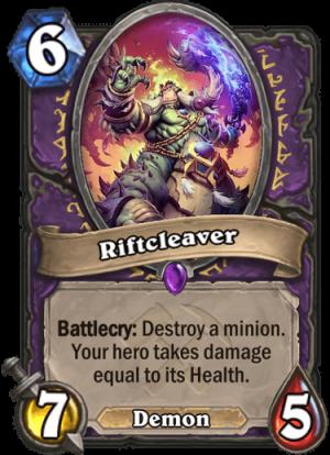 Riftcleaver Card