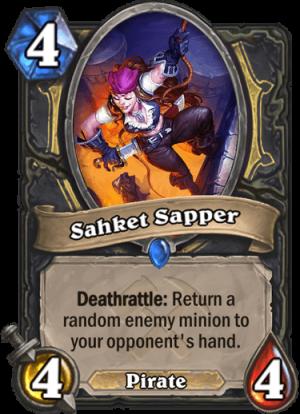 Sahket Sapper Card