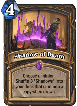 Shadow of Death Card