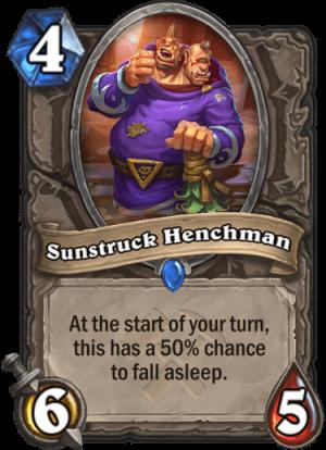 Sunstruck Henchman Card