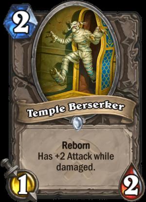 Temple Berserker Card