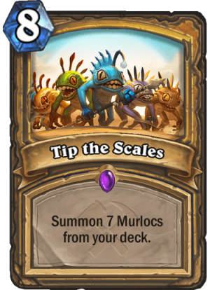 Tip the Scales Card