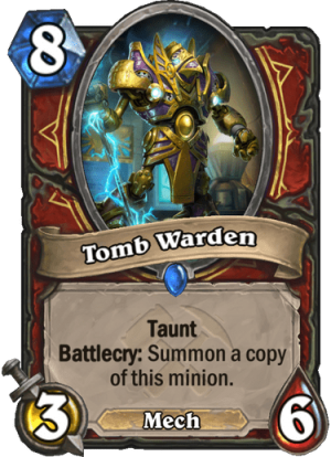 Tomb Warden Card