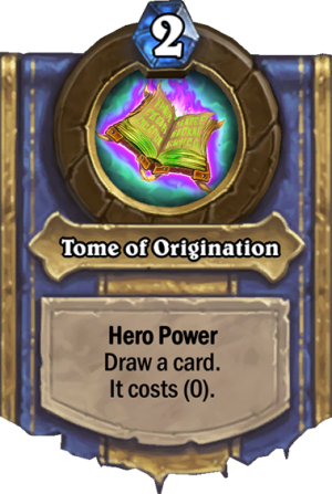 Tome of Origination Card