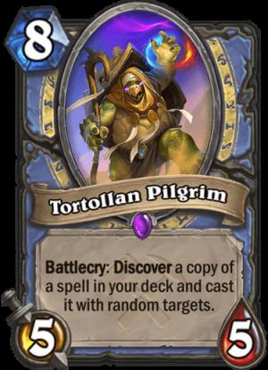 Tortollan Pilgrim Card