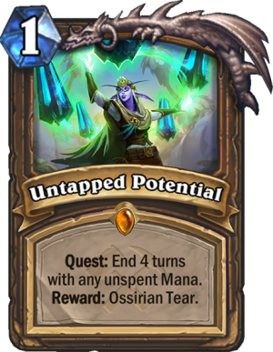 Untapped Potential Card