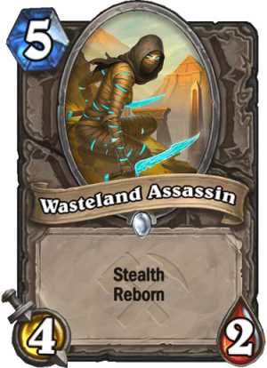 Wasteland Assassin Card