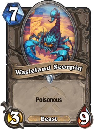 Wasteland Scorpid Card