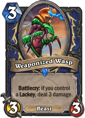 Weaponized Wasp Card