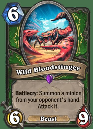 Kết quả hình ảnh cho wild bloodstinger hearthstone