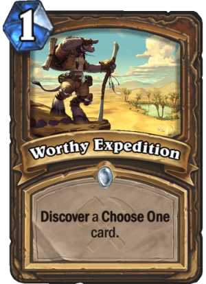 Worthy Expedition Card