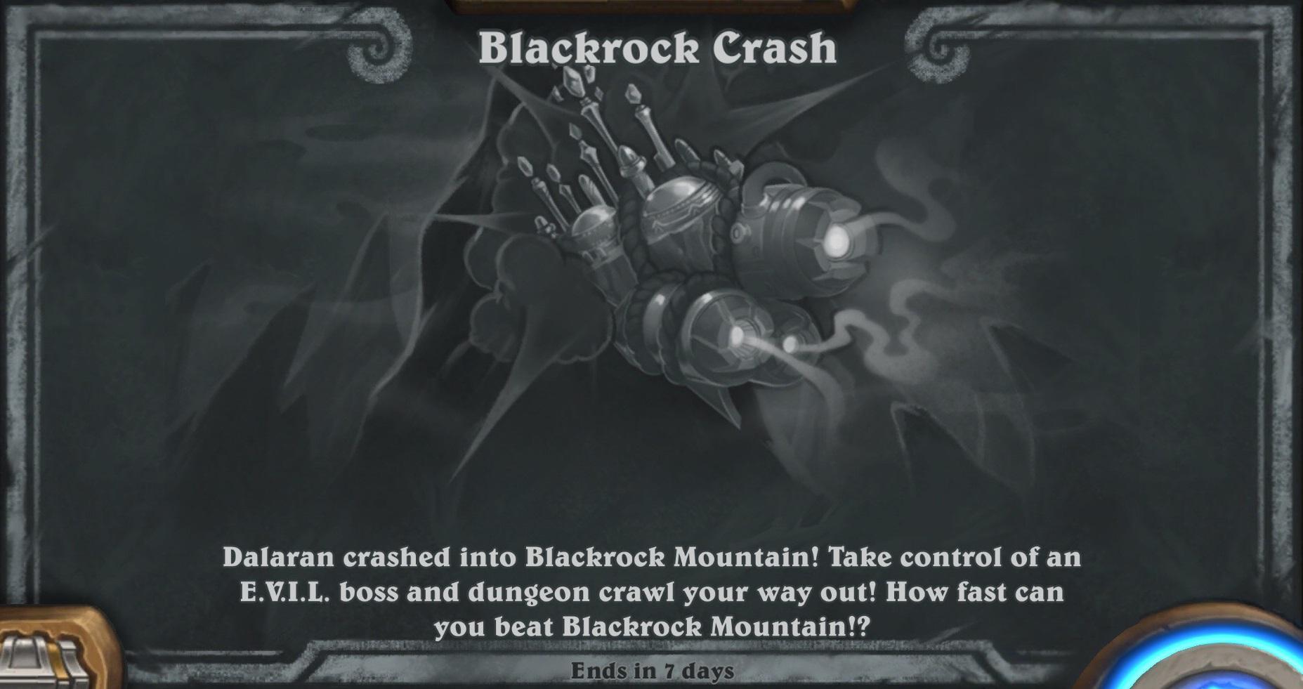 Tavern Brawl - Blackrock Crash Week 1 - Hearthstone Top Decks
