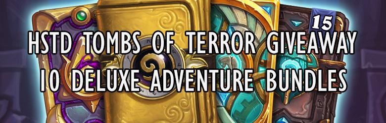 HSTD Tombs of Terror Giveaway! Win One of the Ten Deluxe