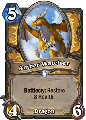 Amber Watcher Card