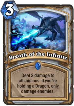 Breath of the Infinite Card