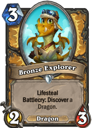 Bronze Explorer Card
