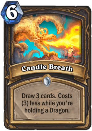 Candle Breath Card