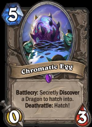 Chromatic Egg Card