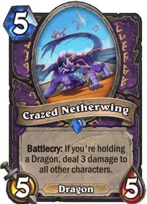 Crazed Netherwing Card