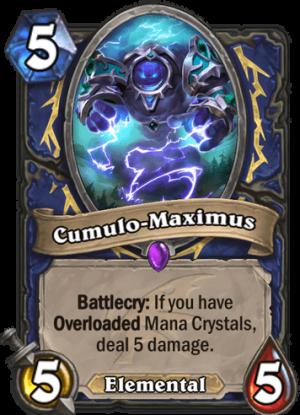 Cumulo-Maximus Card