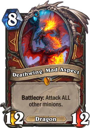 Deathwing, Mad Aspect Card