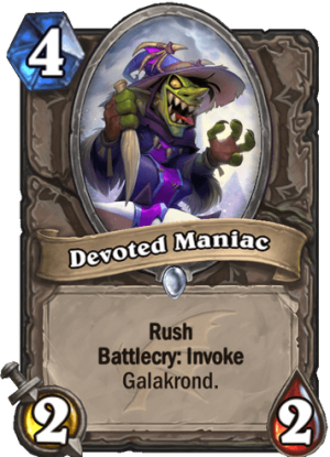 Devoted Maniac Card