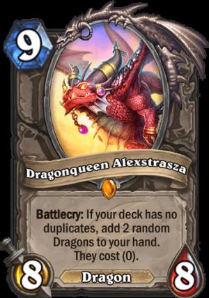 Dragonqueen Alexstrasza Card