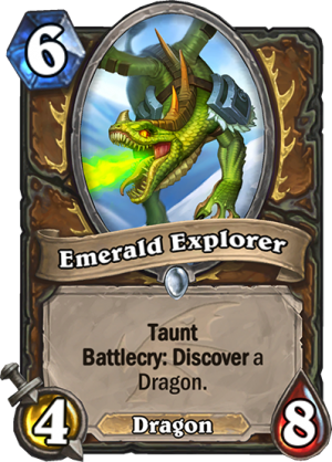 Emerald Explorer Card