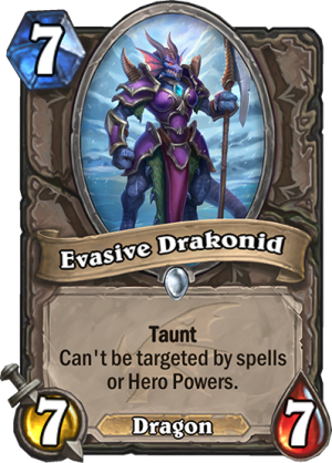 Evasive Drakonid Card