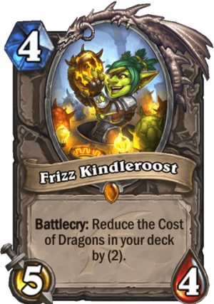 Frizz Kindleroost Card