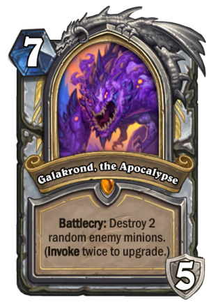 Galakrond, the Apocalypse (Priest) Card