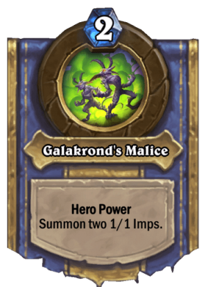 Galakrond's Malice Card