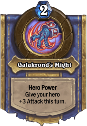 Galakrond's Might Card