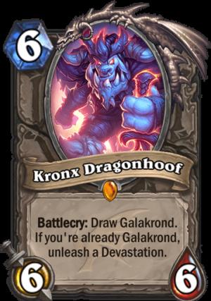 Kronx Dragonhoof Card