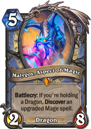 Malygos, Aspect of Magic Card