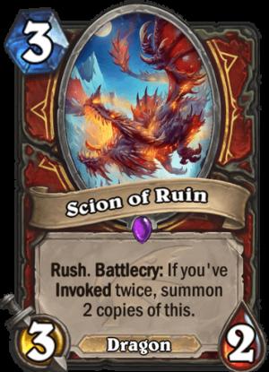 Scion of Ruin Card