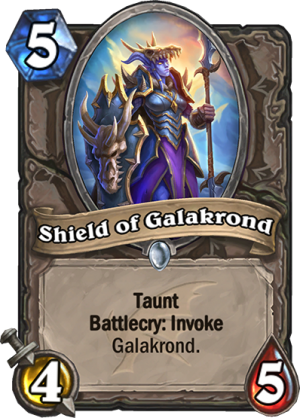 Shield of Galakrond Card