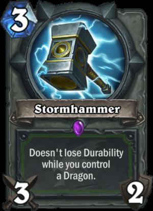 Stormhammer Card