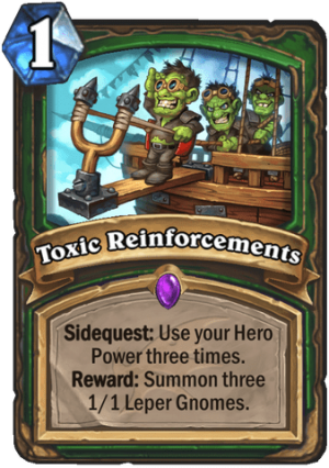 Toxic Reinforcements Card