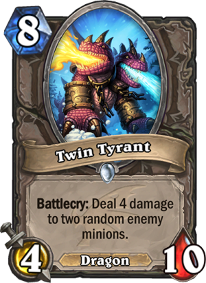 Twin Tyrant Card