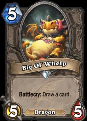 Big Ol' Whelp Card