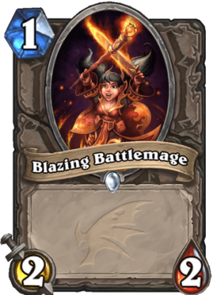 Blazing Battlemage Card