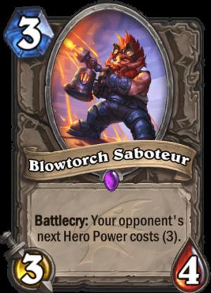 Blowtorch Saboteur Card