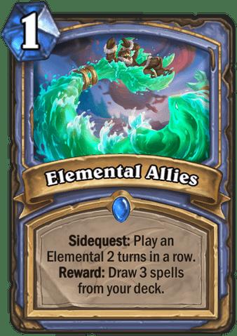 Elemental Allies Hearthstone Top Decks