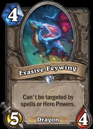 Evasive Feywing Card