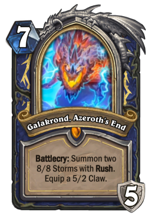 Galakrond, Azeroth's End (Shaman) Card